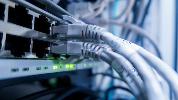 full-fibre network
