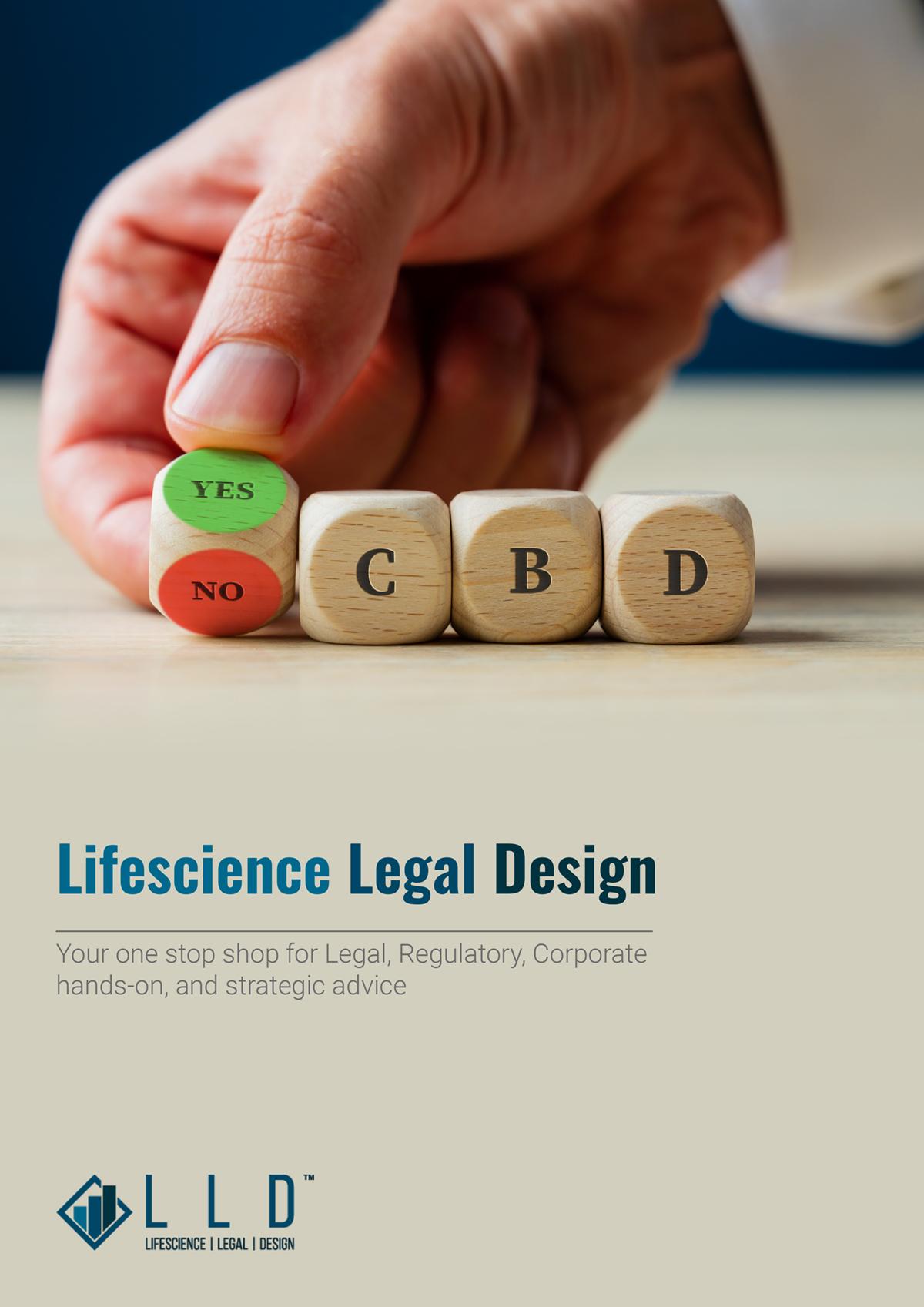 CBD and hemp, Lifescience Legal Design