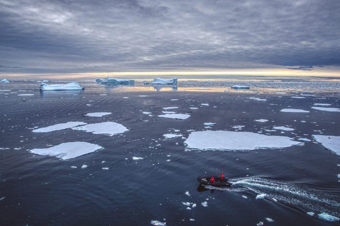 free of sea ice, arctic