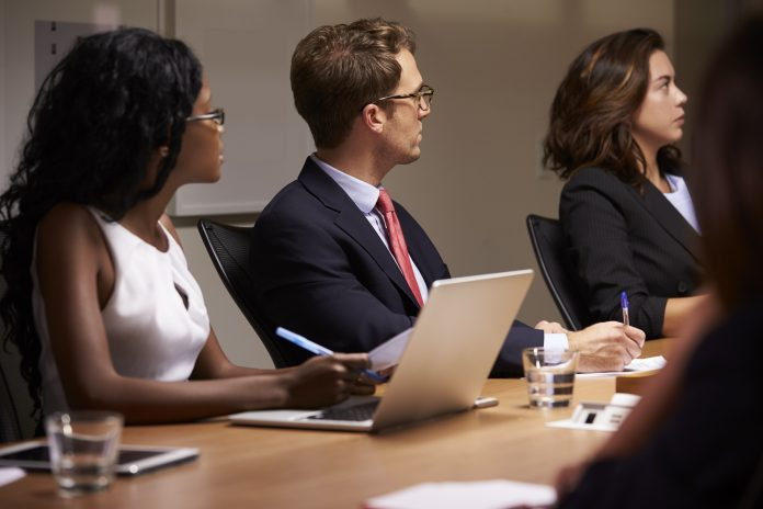 the managerial chain, boardroom