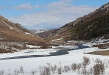 arctic rivers, spring flood