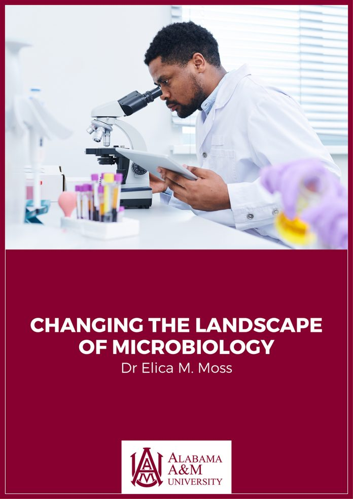 landscape of microbiology, dr elica moss
