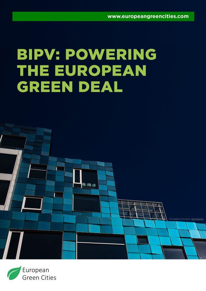 european green deal, bipv