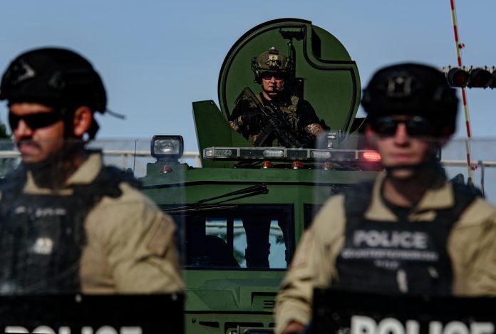 police militarisation, black lives matter