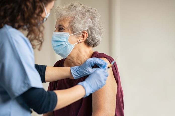 first round of the COVID-19 vaccine