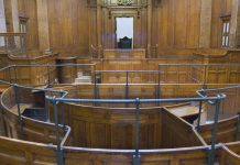 britain's courthouses, courtroom