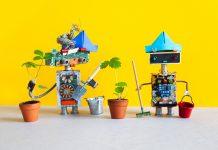 creating AI, robot