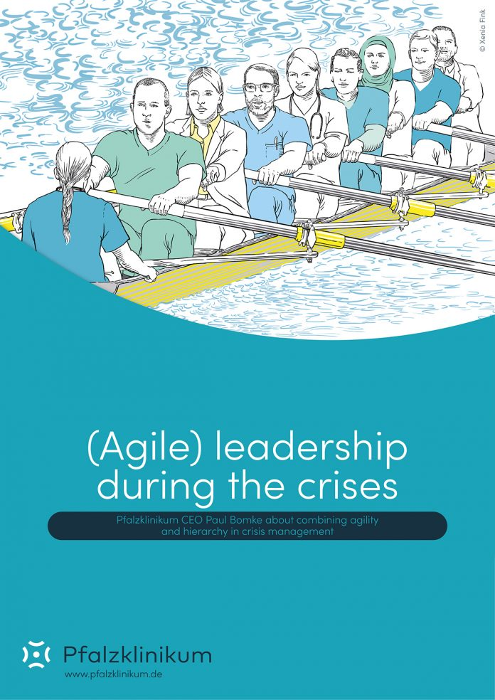 Agile leadership during the crisis, pfalzklinikum
