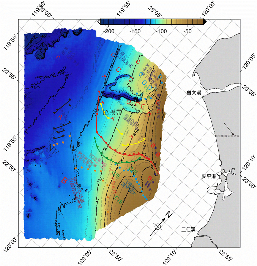 geophysical survey research, taiwan