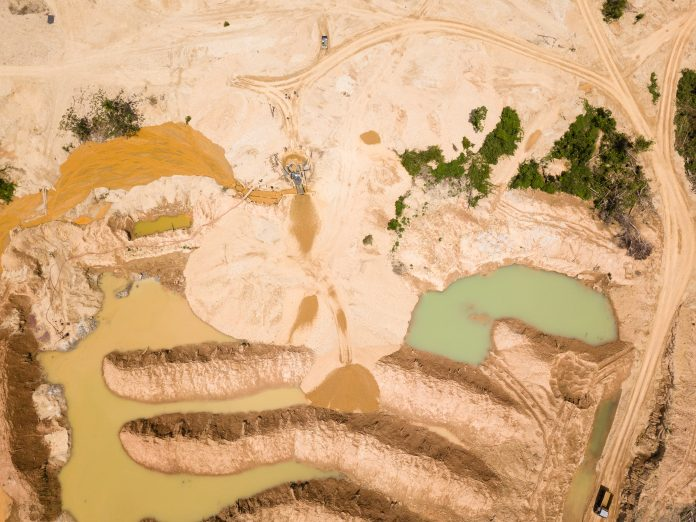 illegal mining in amazon, mercury amazon