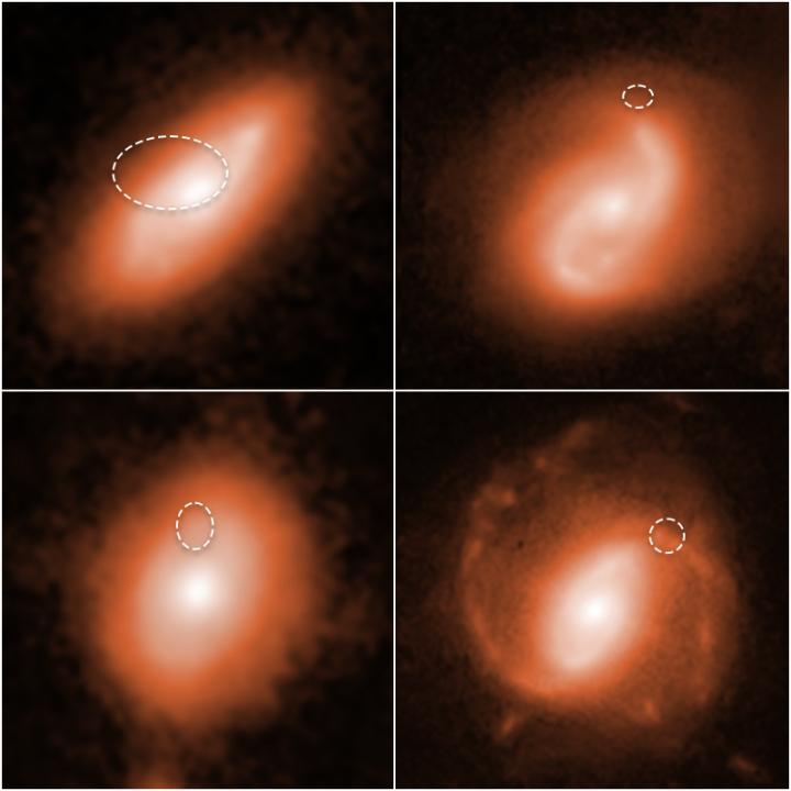 Ráfagas de radio rápidas de la NASA, galaxias