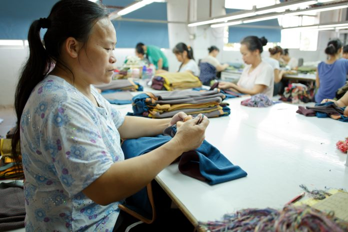 garment supply chains, forced labour