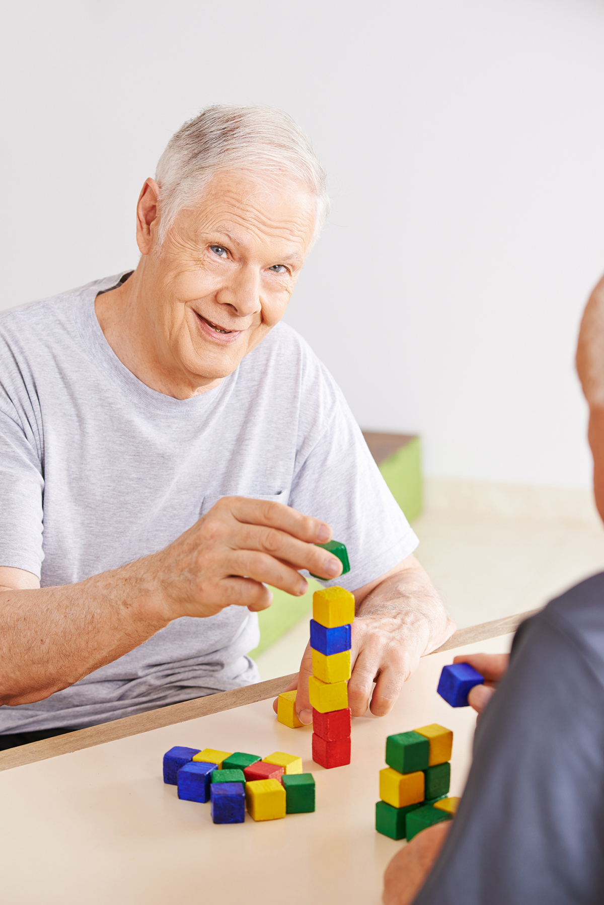 older adults with severe dementia, ageing population